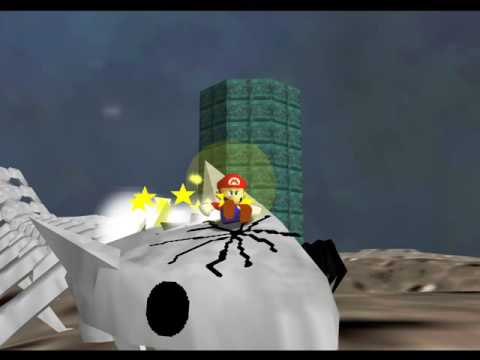 SM64 Last Impact - Final Boss and Ending Credits (130 Stars)