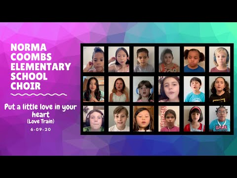 Norma Coombs Elementary School Choir Project
