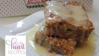 Krispy Kreme Bread Pudding Recipe - I Heart Recipes