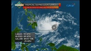 Weather update as of 5:40 p.m. (November 18, 2018)