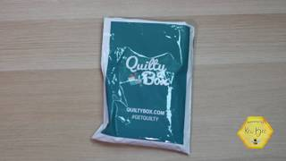 Unboxing Quilting Box | January 2019