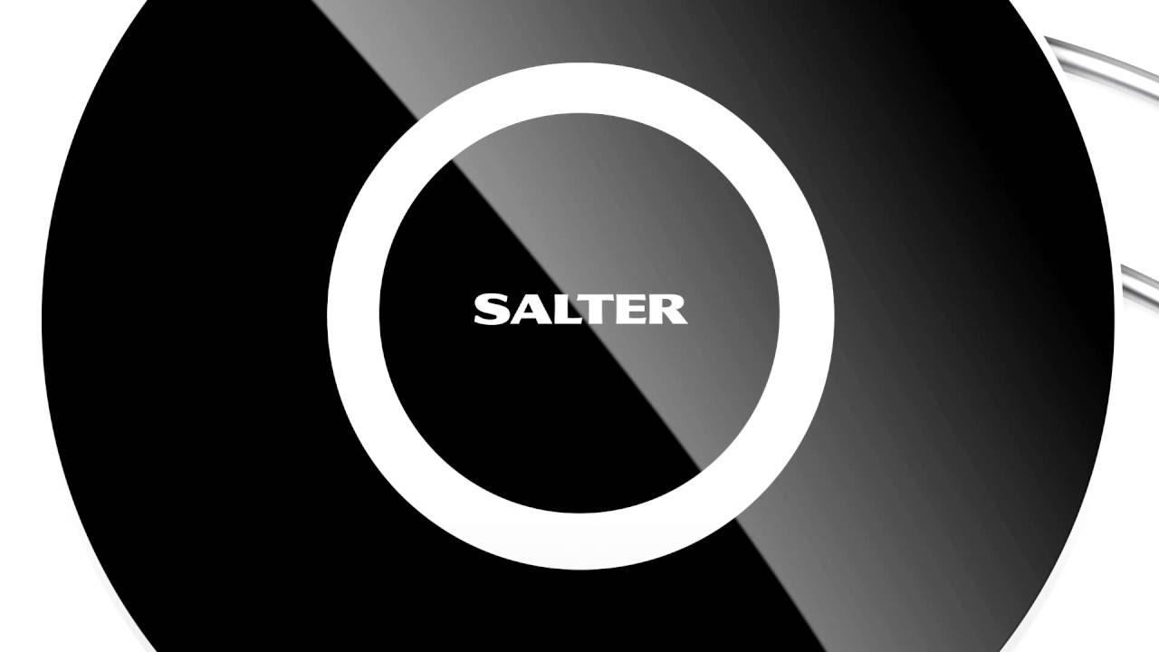 1088BKDR Salter Target Kitchen Scales - YouTube