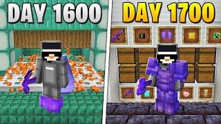 I Survived 1,700 Days in HARDCORE Minecraft...