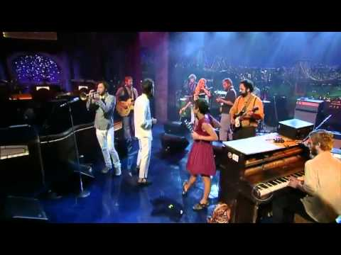 Edward Sharpe and the Magnetic Zeros on David Letterman -