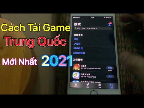 Cách tải game Trung Quốc ios - iPhone trên App Store 2021