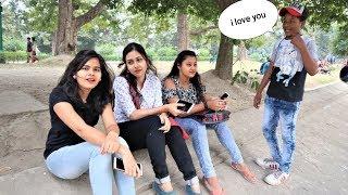 KID PROPOSING CUTE GIRL'S PRANK  | I LOVE YOU PRANK | INDIA |PART-1 Vishal Sonar |