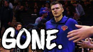 The Knicks Traded Kristaps Porzingis