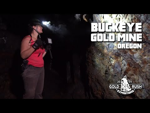 Buckeye Gold Mine Claim for Sale - Ghost Mine - Sumpter, Oregon - 2016 -Gold Rush Expeditions, Inc.