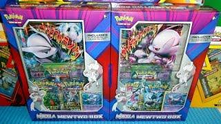 Mega-Mewtu-EX X & Y Best Pokémon Box Ever - Rare Promo Jumbo Cards & 6 Booster Packs