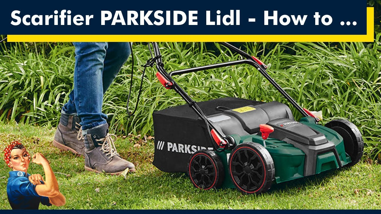 Electric Scarifier Aerator From Lidl