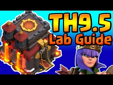 Clash of Clans: TH9.5 Th10 LAB RESEARCH GUIDE (January 2017) ULTIMATE!!!