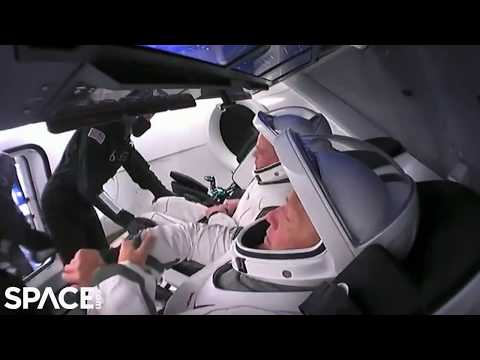 SpaceX Demo-2 Crew At Launch Pad, Strapped Into Crew Dragon