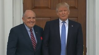 Trump repaid Cohen $130K for payment to porn star, Giuliani says