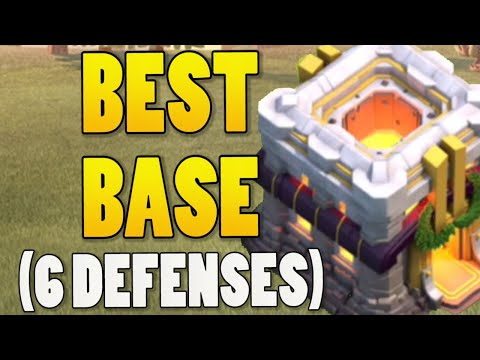 *AMAZING* TH11 Base With 6 Defenses + Base Link | Clash Of Clans Best Town Hall 11 Base