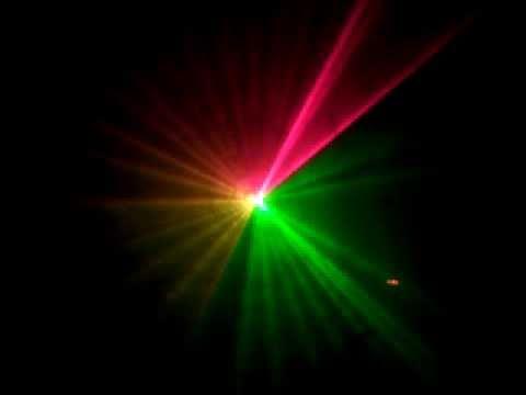 Đèn laser hiệu ứng vẽ hình 3 màu - Den San Khau