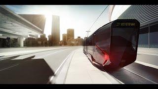 Трёхсекционный низкопольный трамвай THREE-SECTION LOW FLOOR TRAM R1