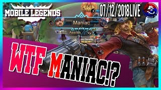Maniac two time by Karrie Mobile Legends North America Marksman Player