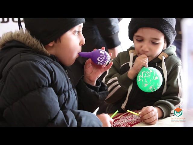 توزيع كفالات أيتام جمعية النجاة الخيرية في الداخل السوري - 19-2-2020