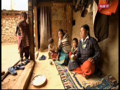 Mujer de Nepal