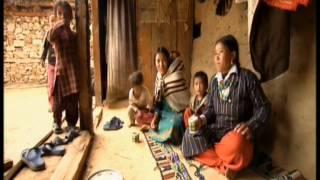 Mujer de Nepal con tres maridos