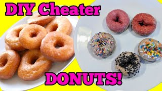 DIY Cheater Donut  How to Get Your Kids to Eat Plain Donuts