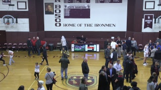Don Bosco Prep vs Bergen Catholic Basketball 1/17/2019