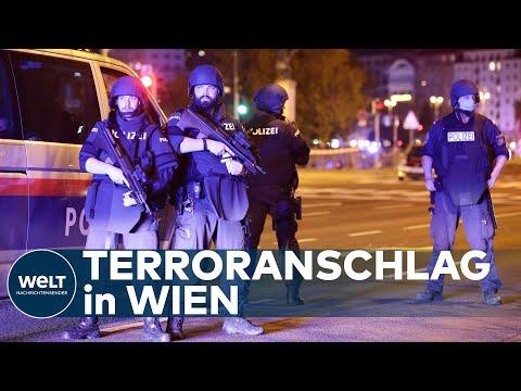TERROR IN ÖSTERREICH: Feuergefechte in Wiener Innenstadt nahe Synagoge - Tote und Verletzte
