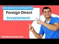 Foreign Direct Investment | International Accounting Course | CPA Exam FAR