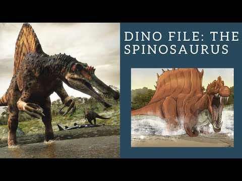 Dino File: Top Ten Facts About The Spinosaurus!