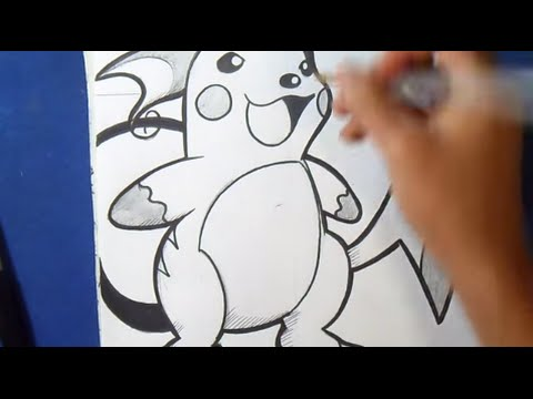 Comment Dessiner Raichu Pokémon