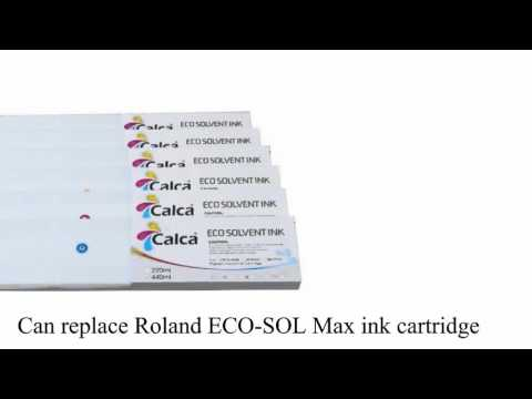 Calca  Cartuchos de tinta  440ML Roland ECO Sol  Ink Cartrid
