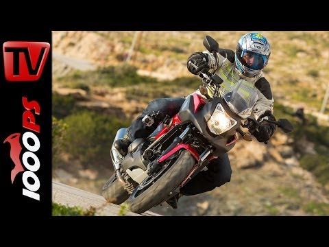 First Test-Video | Honda NC750X DCT 2014 | Action, Onboard, Details