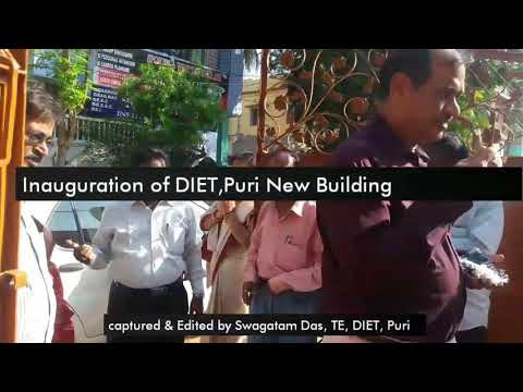 DIET, Puri New Building Inauguration
