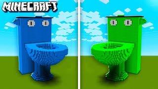 DENIS TOILET vs. SUB TOILET in Minecraft! (The Pals Minecraft)
