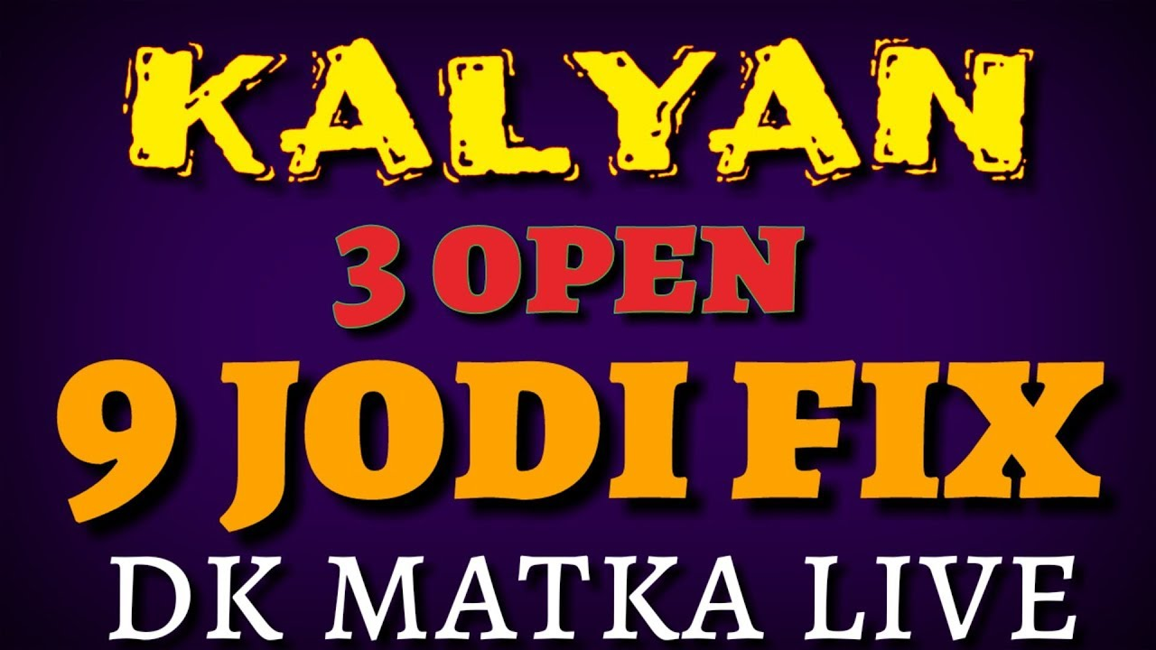Kalyan matka office Satta matka office Fix Figure Leak Game