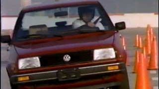 Repeat youtube video 1986 VW GOLF and Jetta Mk2 vs. competition VHS Showroom Tape