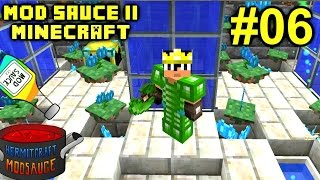 Minecraft Mods - Mod Sauce II Ep. 06 - Top Tier Armor & Power !!! ( HermitCraft Modded )
