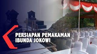 Gambar cover Persiapan Pemakaman Ibunda Presiden Jokowi di Karanganyar