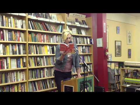 Imogen Binnie reading from Nevada at Pegasus Books  - Part 1 of 3