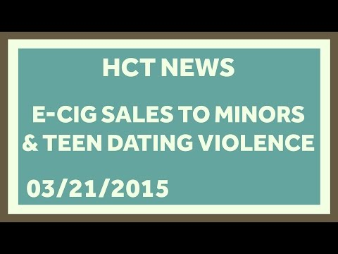 Minors, E-cigarette Regulation, and Dating Violence: Healthcare Triage News