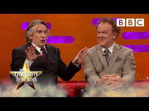 Steve Coogan's hilarious impressions 😂 - BBC
