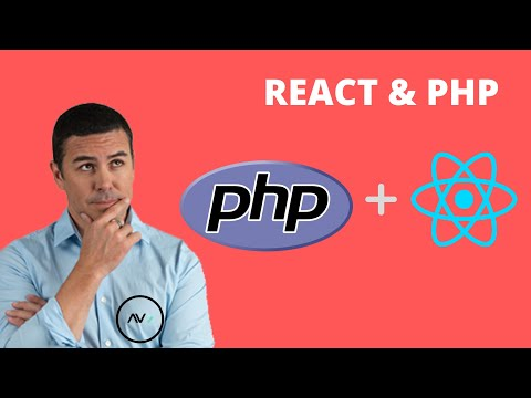 How To Use PHP With React | How To Use React With PHP | React And PHP | React On Apache2 Server