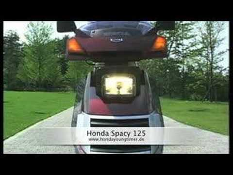 honda spacy 125 roller mit klappscheinwerfer youtube. Black Bedroom Furniture Sets. Home Design Ideas