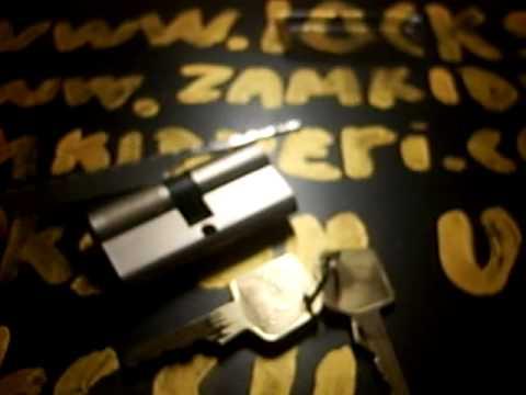 Взлом двери без повреждений (отмычки) MAUER SKG цилиндровый механизм секретности Мauer SKG отмычками , время вскрытия менее полуминуты прочёсыванием