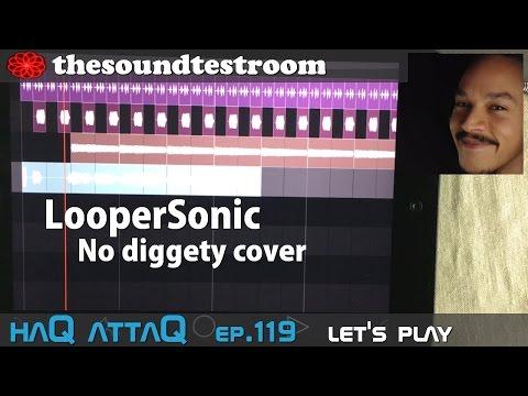 LooperSonic for iPad │ Recording Vocals │ No diggity Cover - haQ attaQ 119