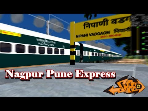 Belapur To Ahmednagar Journey With Nagpur Pune Express || Part One || Play In open rail