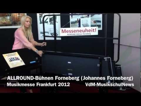 Allround-Bühnen Forneberg - VdM-MusikschulNews Musikmesse 2012
