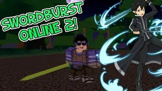 THIS GAME LOOKS SUPER DOPE! SWORD BURST 2! ROBLOX!
