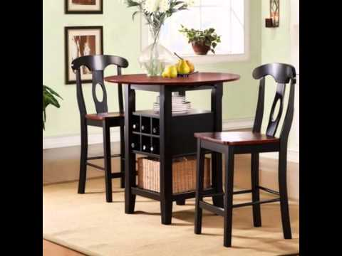 2 person dining table and chairs - YouTube