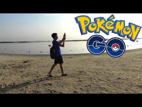 NYARI POKEMON SAMPE KE PANTAI !? - Pokemon Go Indonesia #3